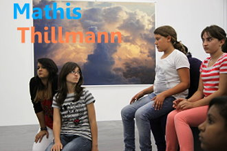 Mathis in Thillmans Kunst Austellung